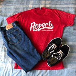 Reverb Ltd Edition Summer NAMM 2016 T-Shirt NWT
